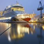 Die AIDAstella im Hafen