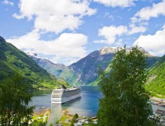 Echtes Kreuzfahrt Schnäppchen: 8 Tage lang Norwegens Fjorde entdecken ab Hamburg für 661€