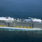 Anthem of the Seas verlässt Baudock der Meyer-Werft