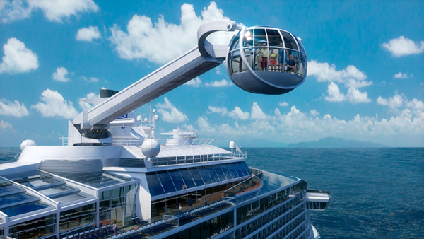 "Der North Star (Nord Stern) / ""Quelle: Royal Caribbean International"""