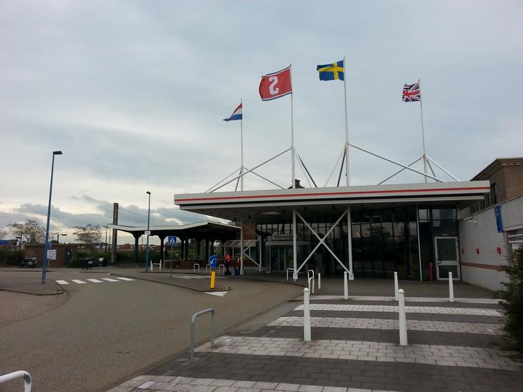 Das Stena Line Terminal in Hoek van Holland