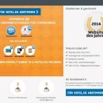Webseite des Jahres 2014 – stimmt für Hotel.de und gewinnt tolle Preise!