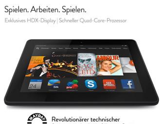 Der perfekte Kreuzfahrtbegleiter – Kindle Fire HDX Tablet für 99€ (über 50% gespart)
