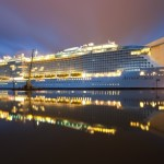 Im April wird die Anthem of the Seas in Southampton getauft