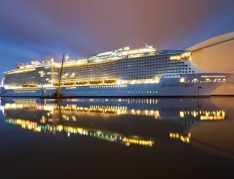Im April wird die Anthem of the Seas in Southampton getauft